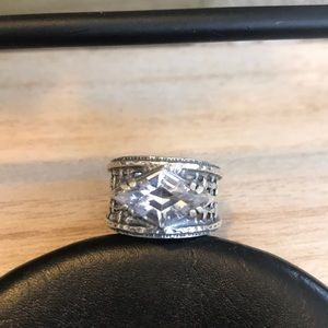 STUNNING Silpada Basket Weave Style Ring!